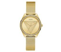 Uhr Women Quartz Watch Tri Glitz Gold