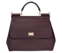 Satchel Bag Sicily Dauphine Leather Regular Satchel Mosto lila