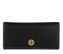 Millbrook Wallet Pebbled Leather 2 Black/Truffle