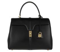 Satchel Bag Medium 16 Bag Leather Black schwarz