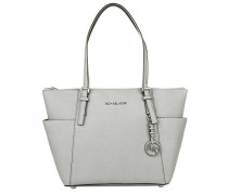 Jet Set Item EW TZ Tote Pearl Grey