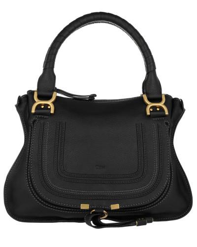 Marcie Medium Shoulder Bag Black Tote