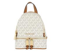 Rhea Zip XS Messenger Backpack Vanilla Rucksack