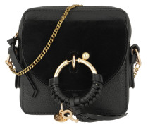 Umhängetasche Joan Camera Bag Leather Black schwarz