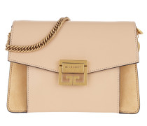 Small GV3 Bag Leather And Suede Nude/Light Beige Tasche