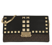 Umhängetasche Cece Large Clutch Xbody Bag Brown/Black braun