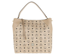 Hobo Bag Klara Visetos Hobo Large Beige beige