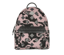 Stark Munich Lion Camo Backpack Small Light Pink Rucksack rosa