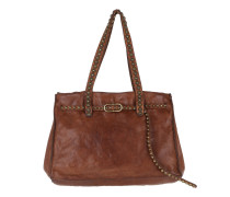 Studded Shopping Bag  Tote