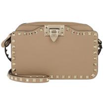 Rockstud Crossbody Camera Bag Cammello Tasche