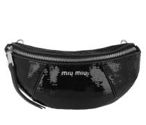 Gürteltasche Sequin Belt Bag Nero schwarz