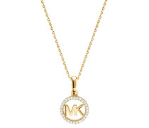 Halskette MKC1108AN710 Logo Charm Neck Gold