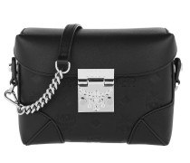 Gürteltasche Soft Berlin Monogram Leather Small Belt Bag Black schwarz