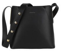 Umhängetasche Josephine Handle Bag Black/Black/Gold