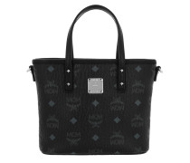 Anya Top Zip Shopper Mini Black