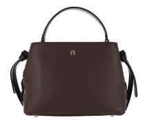 Carla S Handbag Burgundy Satchel Bag