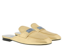Moccasin Slides Calf Leather  Schuhe