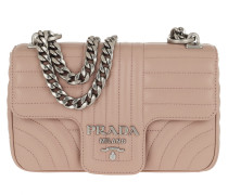 b1a708d76c39e Umhängetasche Diagramme Leather Shoulder Bag Cipria beige. Prada