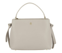 Carla Leather Tote S Cashmere Tasche