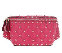 Gürteltasche Rockstud Spike Belt Bag Disco Pink pink