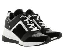 Georgie Trainer Black Sneakers