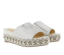 Janibasse 60 Sandals Latte Silver Sandalen