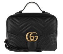 GG Marmont 2.0 Shoulder Bag Nero Tasche