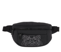 Gürteltasche Nylon Doudoune Tiger Belt Bag Black schwarz
