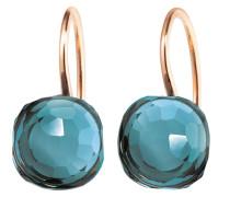 Schmuck Earrings Happy Holi Topas London Blue Cabochon Rosegold roségold