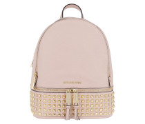 Rhea Zip MD Pyr Stud Backpack Soft Pink Rucksack
