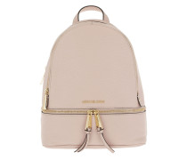 Rhea Zip MD Backpack Soft Pink Rucksack
