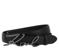 Gürtel Signature Belt Black