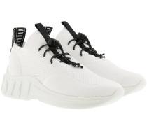 Sneakers Technical Knit Sneaker White weiß