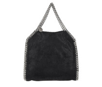 Mini Falabella 3Chains Black Tote