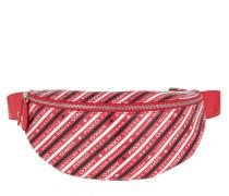 Gürteltasche Kermesse Vintage Belt Bag Rosso/Nero/Bianco rot