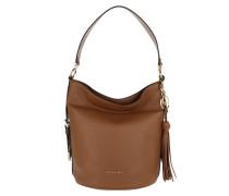 Beuteltasche Brooke Medium Bucket Bag Acorn cognac