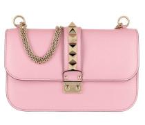Rockstud M Lock Shoulder Bag Leather Absolute Rose Tasche