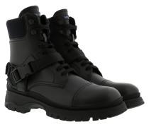 Tronchetti Ankle Boot Logo Black Schuhe