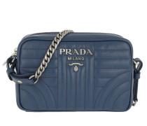Umhängetasche Diagramme Crossbody Bag Leather Bluette 2 blau