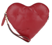 Chubby Clutch Heart Red Pochette