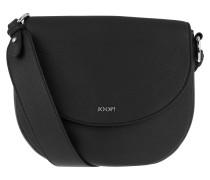 Rhea Shoulder Bag Black Shopper