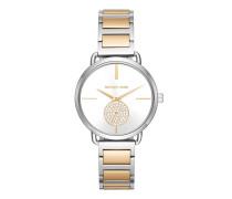 MK3679 Ladies Portia Watch Silver/Gold Uhr gold