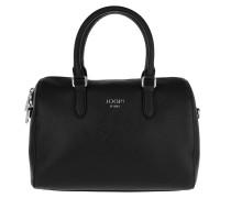 Saffiano Jeans Aurora Handbag Black Bowling Bag