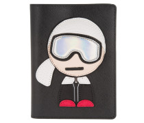 Ski Holiday Passport Etui Black