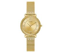 Uhr Women Quartz Watch Jewel Gold