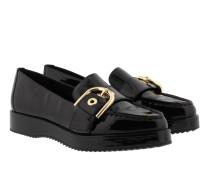 Flat Cooper Slip On Black Schuhe