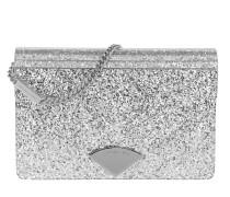 Barbara MD Envelope Clutch Silver