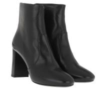 Boots Madras Booties Leather Black schwarz
