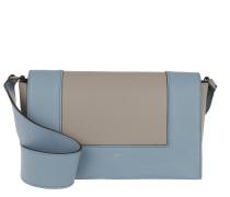 Frame Shoulder Bag Medium Blue Tasche blau
