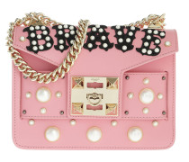Mila Brave Pearl Studded Chain Shoulder Bag Bubble
